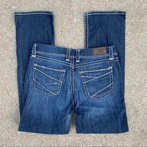 BKE Harper 34XL boot cut jeans